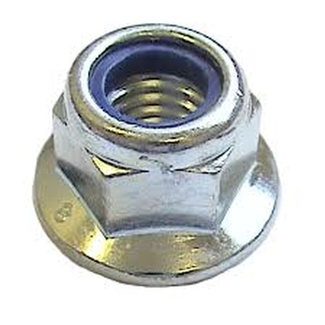 Flanged Nyloc Nuts